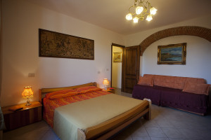 Bed and Breakfast Cisanello Alfieri Camera Moderna